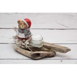 Teddy Mütze Teelicht