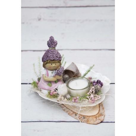Teelicht Wichtelmädchen
