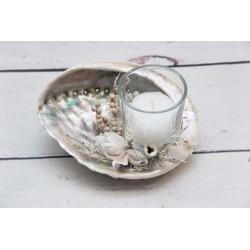 Muschel Teelicht