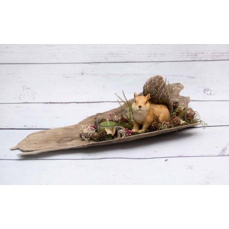 Eichhörnchen Teelicht