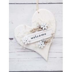 Welcome weisses Herz