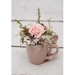 Espressotasse Rose