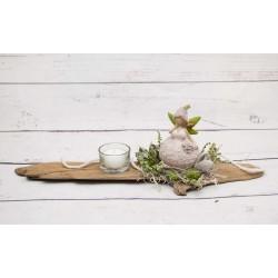 Teelicht Blumenelfe