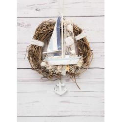 Kranz Segelschiff
