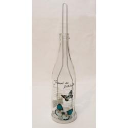 Windlicht Flasche