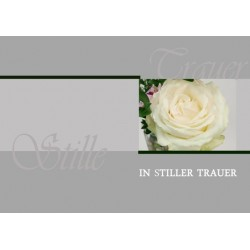 Trauer Stille Rose modern