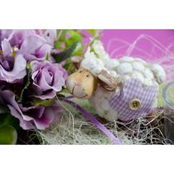 Tischset Schaf lila