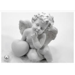 Tischset Engel mit Herz