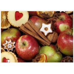 Tischs Apfel-Zimt
