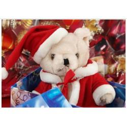 Tischset Weihnachtsbär