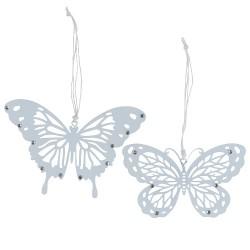 Schmetterling aus Blech, 1 Stück